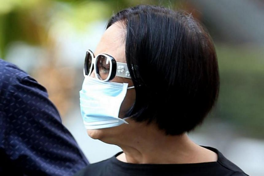 Lee Dji Lin, 65, deliberately wounded the religious feelings of another woman and harassed her Muslim neighbour.