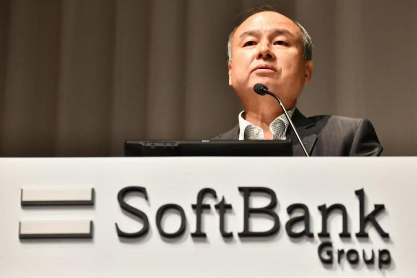 SoftBank's Masayoshi Son at a press conference in Tokyo, Japan, on Aug 7, 2019.