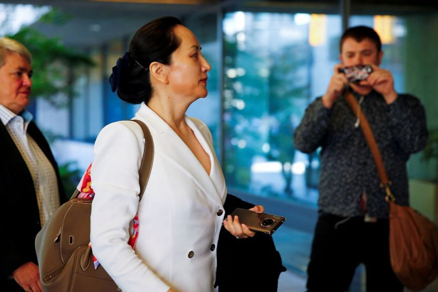 Meng Wanzhou returns to a court hearing in Vancouver in September 2019.