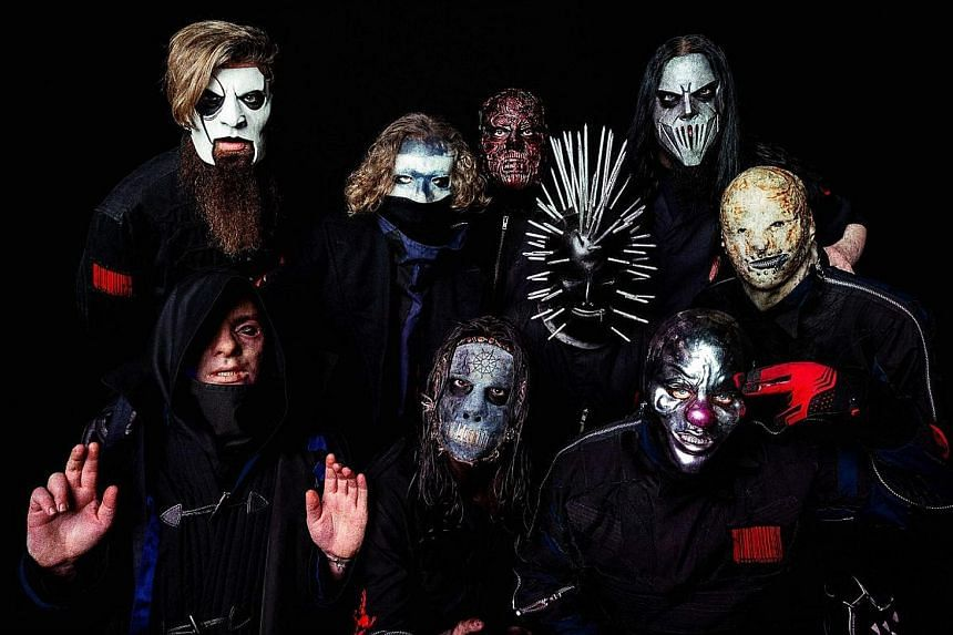 Formed in 1995, the award-winning Slipknot will perform on March 24 at the Singapore Rock Festival II next year.