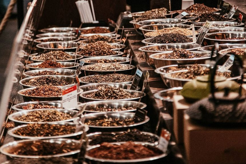 File photo of a buffet spread. Taj Catering's licence has been suspended after one person was hospitalised and 28 others fell ill after consuming its food.