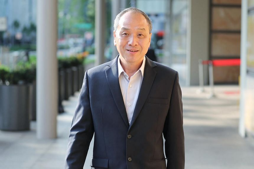 In this photo taken on Oct 16, 2018, former Workers' Party chief Low Thia Khiang is seen outside the Supreme Court. He said he did not want to anticipate or judge its next move.