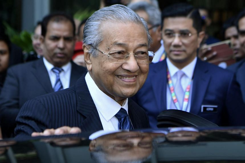 In an interview with the Financial Times, Dr Mahathir Mohamad said there was no actual date or time mentioned for him to step down.