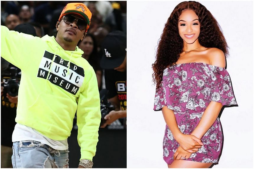 """US rapper T.I. told a podcast how he escorts daughter Deyjah Harris to the doctor's office after each birthday to """"check her hymen""""."""