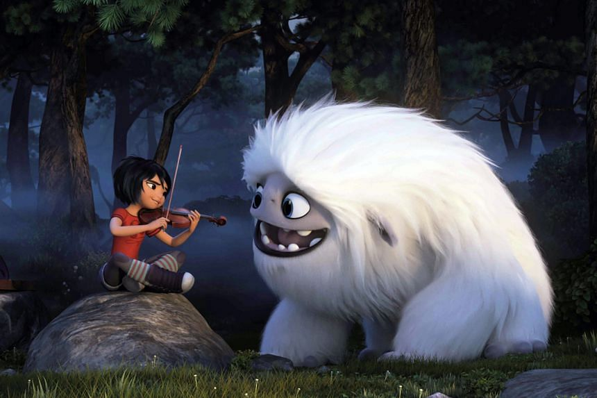 In Abominable, Chloe Bennet voices a girl who befriends a yeti.