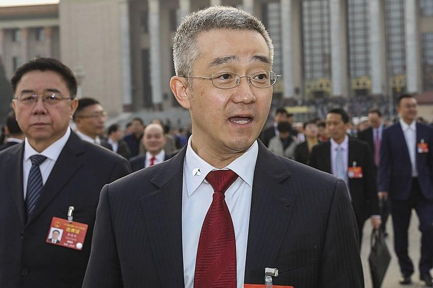 Mr Hu Haifeng (above) is the only son of former Chinese president Hu Jintao. It is too early to tell if the younger Mr Hu, who turns 47 this month, will one day join China's cohort of sixth-generation leaders.