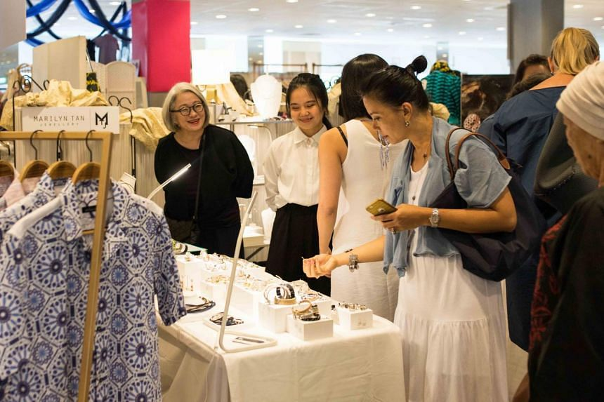 A past edition of Boutique Fairs Singapore.