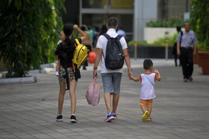A family of four in Toa Payoh.