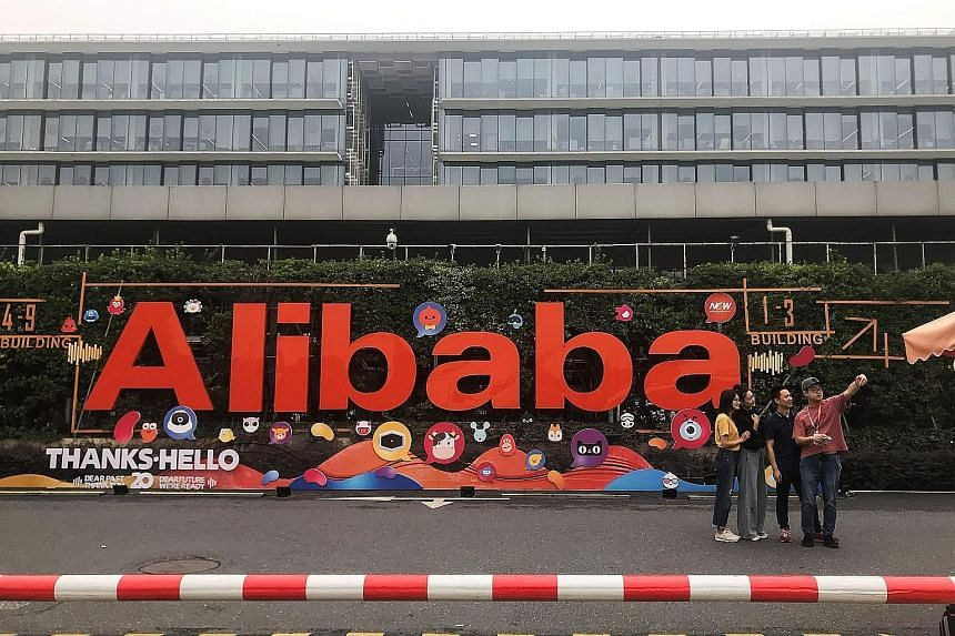 Alibaba's headquarters in Hangzhou. The Chinese e-commerce giant had been working on an August listing in Hong Kong, but put the deal on hold as protests there created uncertainty.