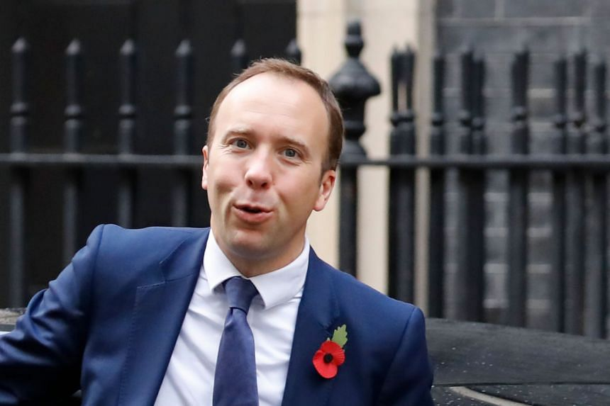 Matt Hancock arriving at 10 Downing Street in London on Nov 4, 2019.