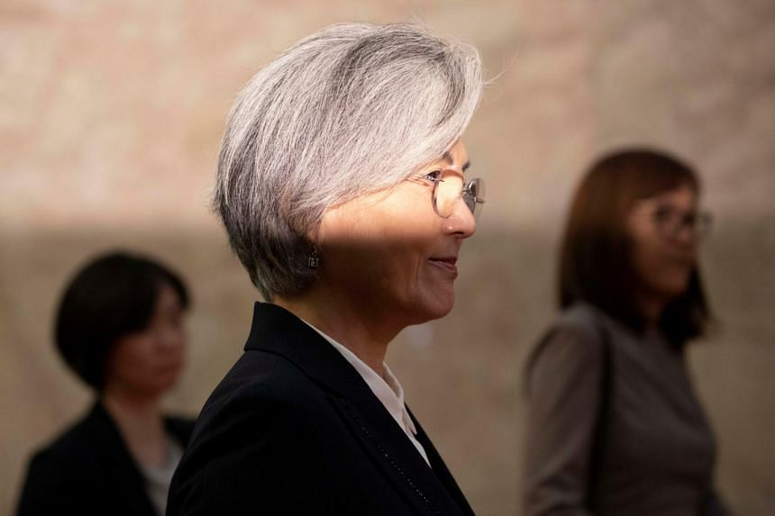 "The report followed South Korean Foreign Minister Kang Kyung-wha's comments at Parliament earlier in the day, where she said the decision ""disappointed"" the US."