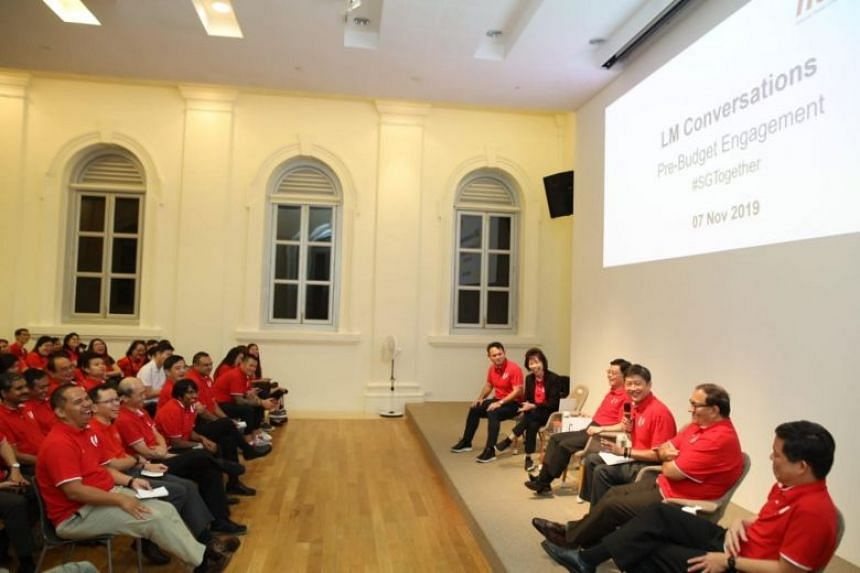 NTUC announced the changes at a dialogue between union leaders and representatives from the social enterprises, and 4G government leaders, including Deputy Prime Minister and Finance Minister Heng Swee Keat.