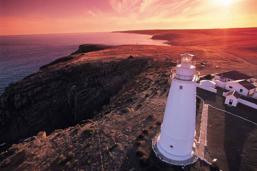 Cape Willoughby lighthouse, one of three on Kangaroo Island in South Australia.