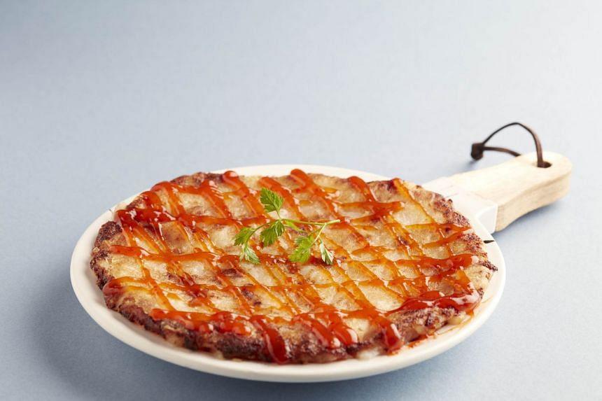 Pan-fried Carrot Cake ($13.80)
