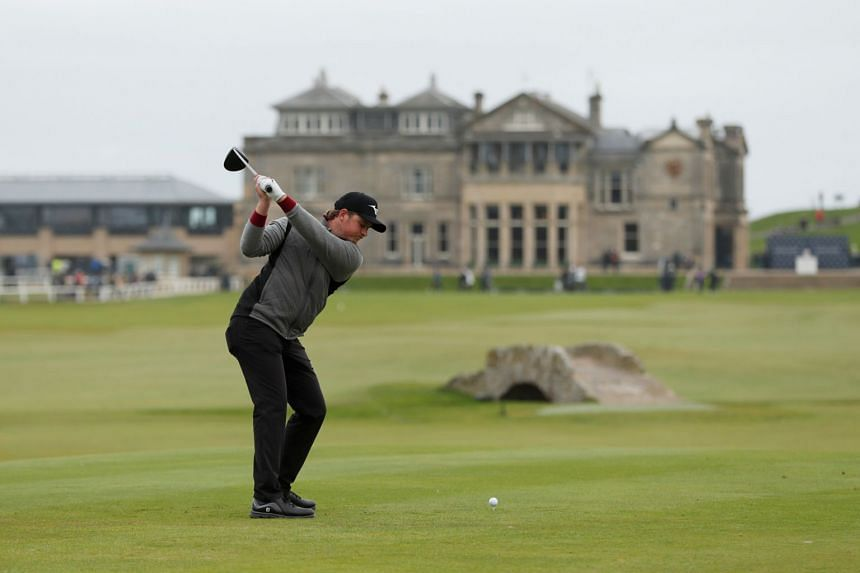 England's Eddie Pepperell at the final round of the Alfred Dunhill Links Championship in Scotland on Sept 29, 2019.