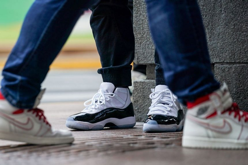 Enthusiasts worldwide have fuelled an expanding bubble in high-priced sneakers, often limited-edition collaborations between big names in sportswear and fashion, rappers or athletes.