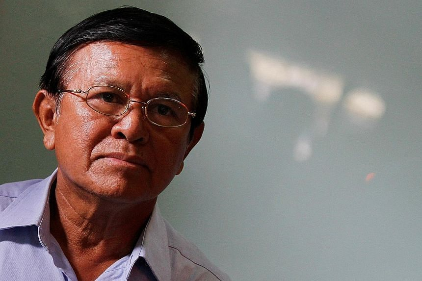 Mr Kem Sokha was accused of treason while he was president of the Cambodia National Rescue Party.