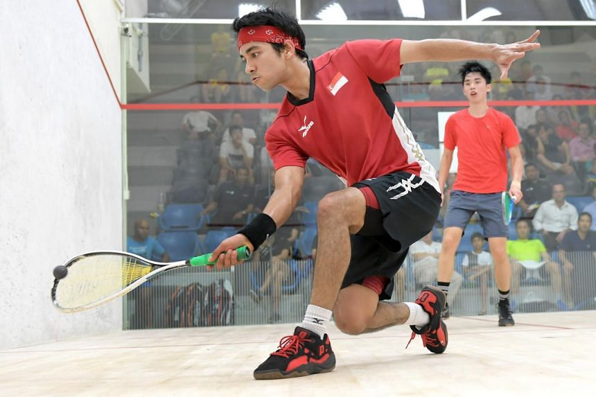 National squash player Samuel Kang is aiming to win the Nov 12-16 Singapore Squash Open.
