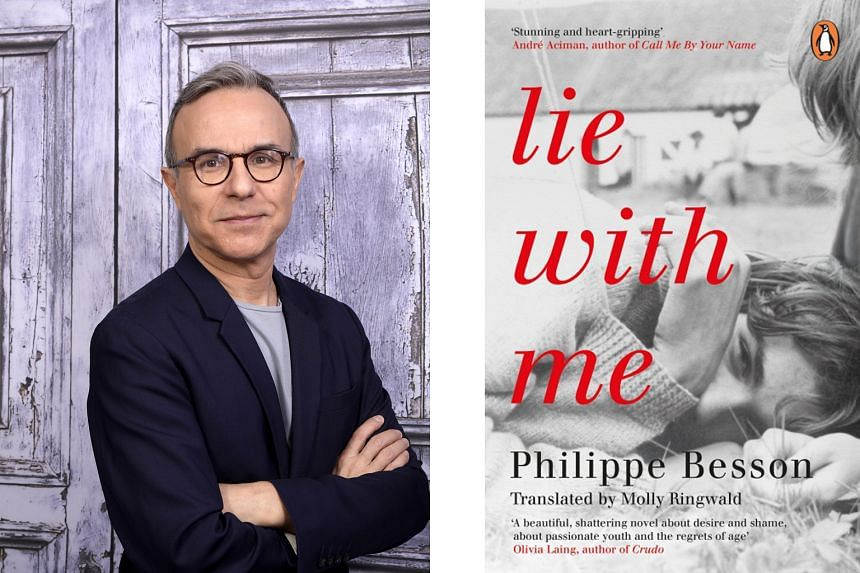 Lie With Me (right) by Philippe Besson (left) is a reflection on class differences and homosexuality in the 1980s.