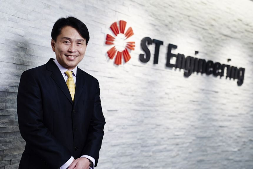 "ST Engineering chief executive Vincent Chong said the group's core business ""remains strong""."
