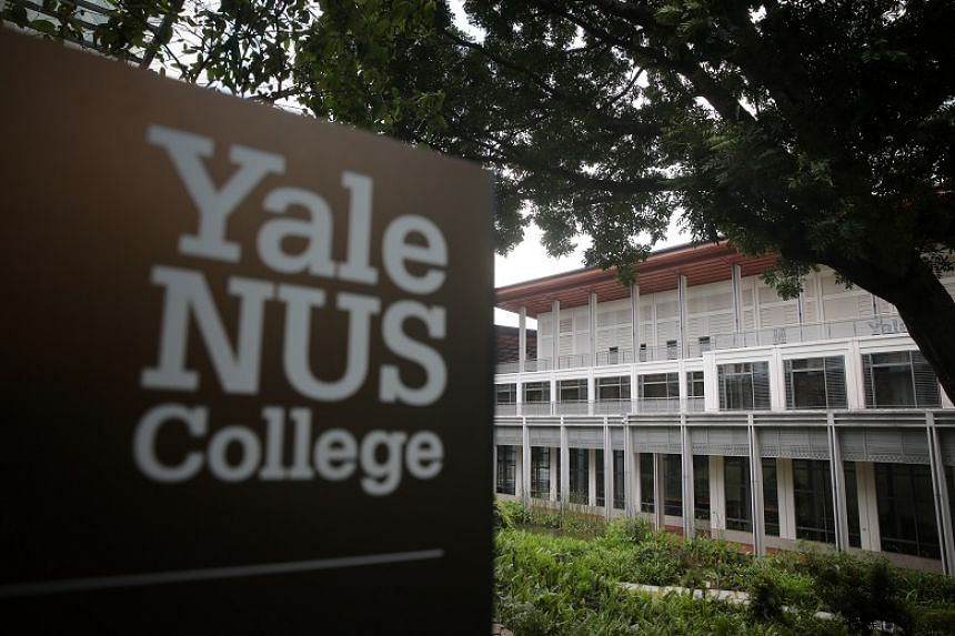 The Yale-NUS Collage campus as seen on Oct 9, 2019.