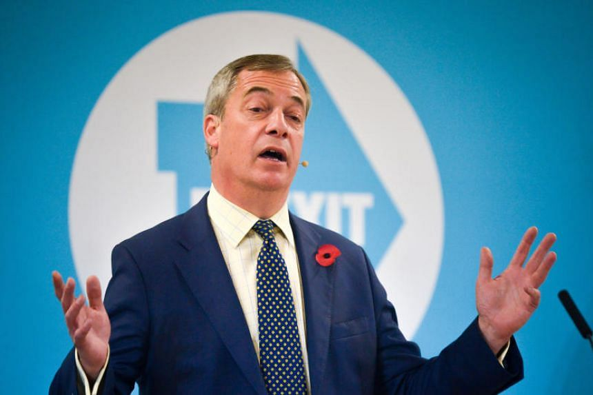 Brexit Party leader Nigel Farage said he did not want anti-Brexit parties to win the election.