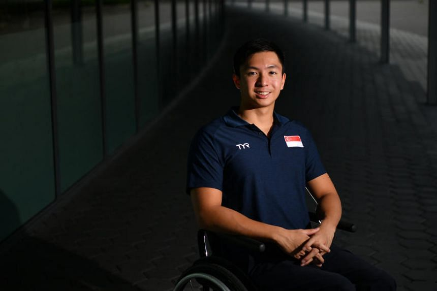 Para swimmer Toh Wei Soong, who spoke to more than 45 people during the Sports Talent Pathway Workshop.