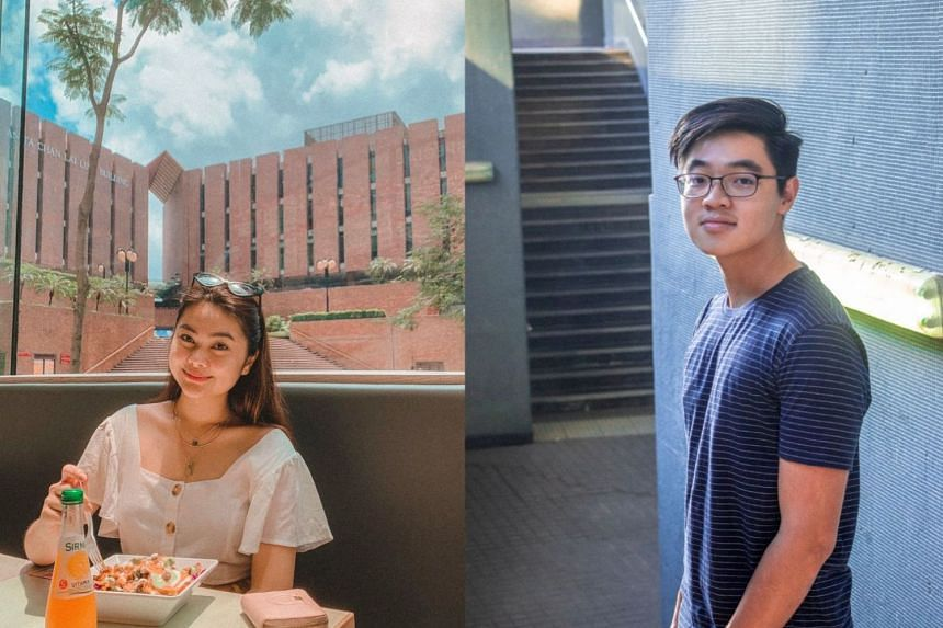 Ms Karen Wu and Mr Cheah Yeok Tatt get to explore the world as they embark on their undergraduate studies at Hong Kong Polytechnic University. PHOTOS: KAREN WU, CHEAH YEOK TATT