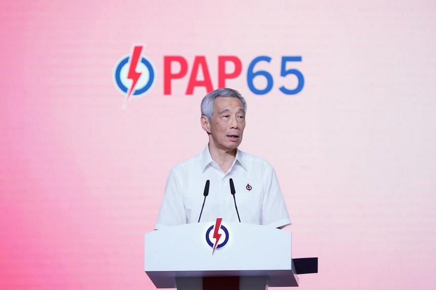 "Prime Minister Lee Hsien Loong called the next general election a critical one involving ""high stakes"" for the future of Singapore."