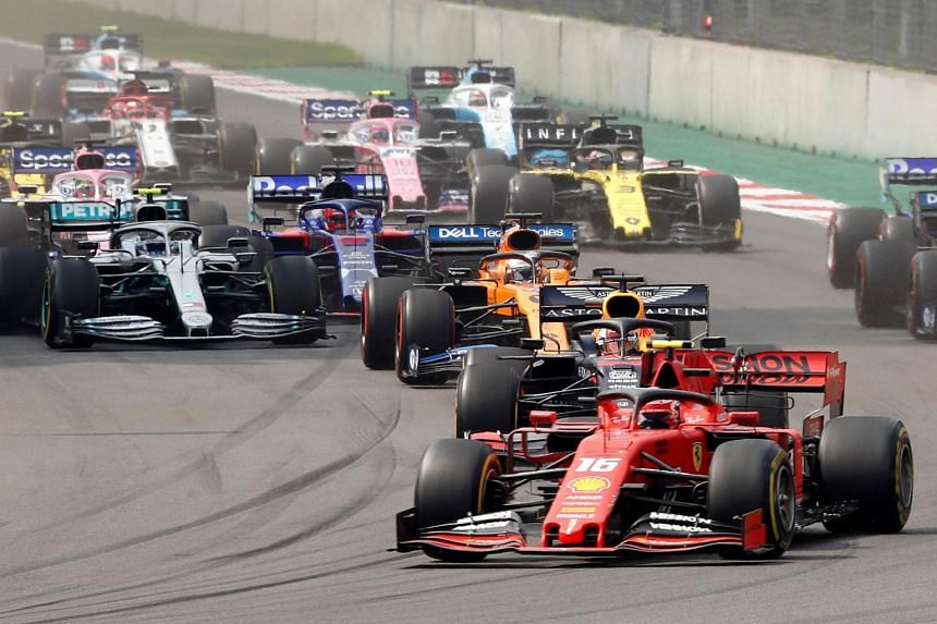 Formula 1 drops the flag for race towards net zero by 2030