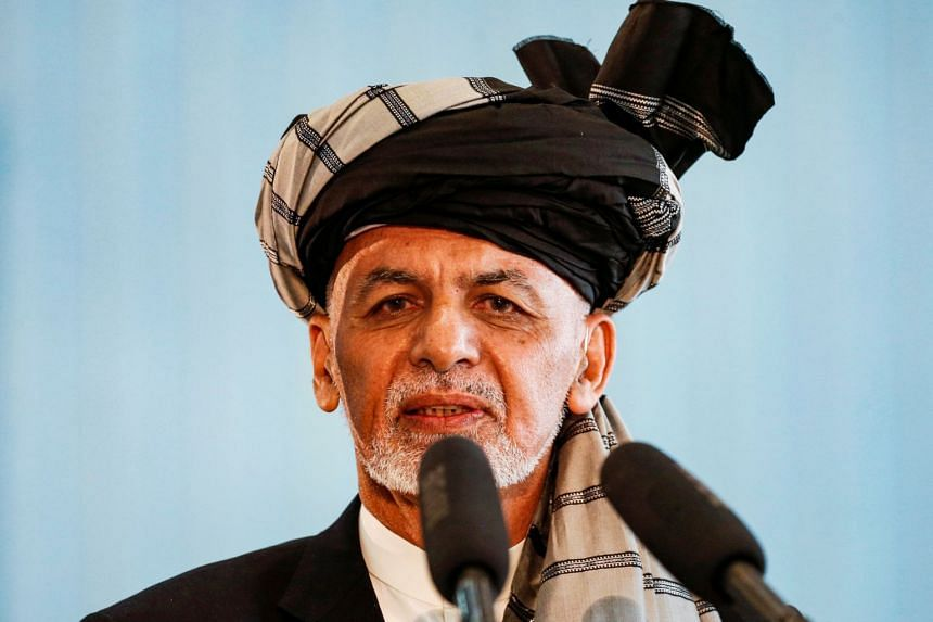 """Afghan President Ashraf Ghani said the decision to release the three Taleban prisoners had been """"very hard and necessary""""."""