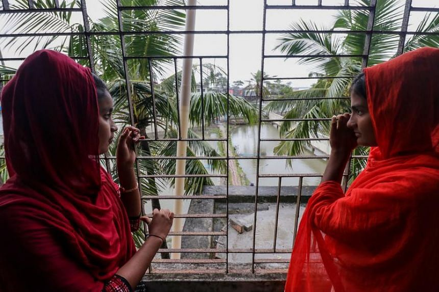 Young women in Khulna, Bangladesh, on Nov 9, 2019. Women's empowerment will be broached for the first time at the South Asian Diaspora Convention