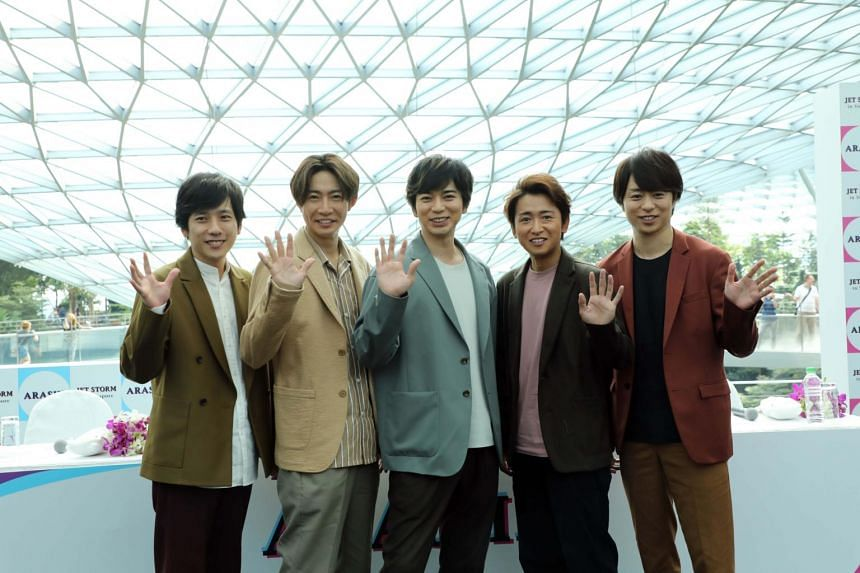 The first digital single of Japanese top boyband Arashi is a groovy party anthem that highlights the power of J-pop.