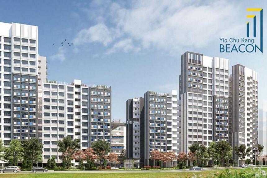 Yio Chu Kang Beacon will be located along Ang Mo Kio Avenue 9.