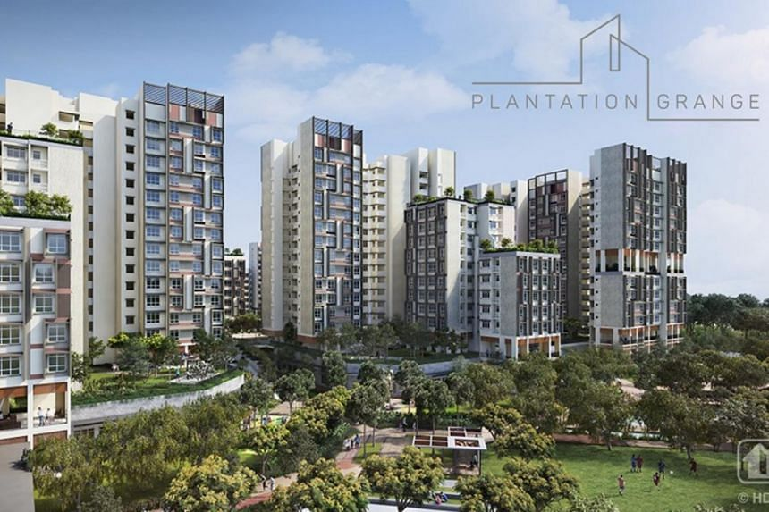 Bounded by Plantation Crescent, Tengah Boulevard and Tengah Garden Avenue, Plantation Grange is located next to an upcoming MRT station.