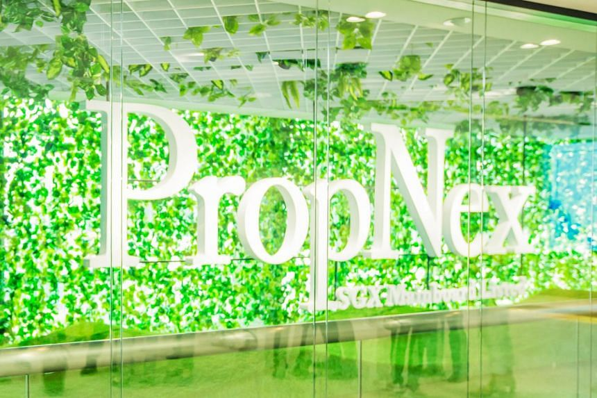 PropNex shares closed at 54 cents on Tuesday, up 2.9 per cent or 1.5 cents.