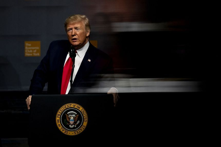 President Donald Trump has denied any wrongdoing and branded the impeachment investigation a sham.