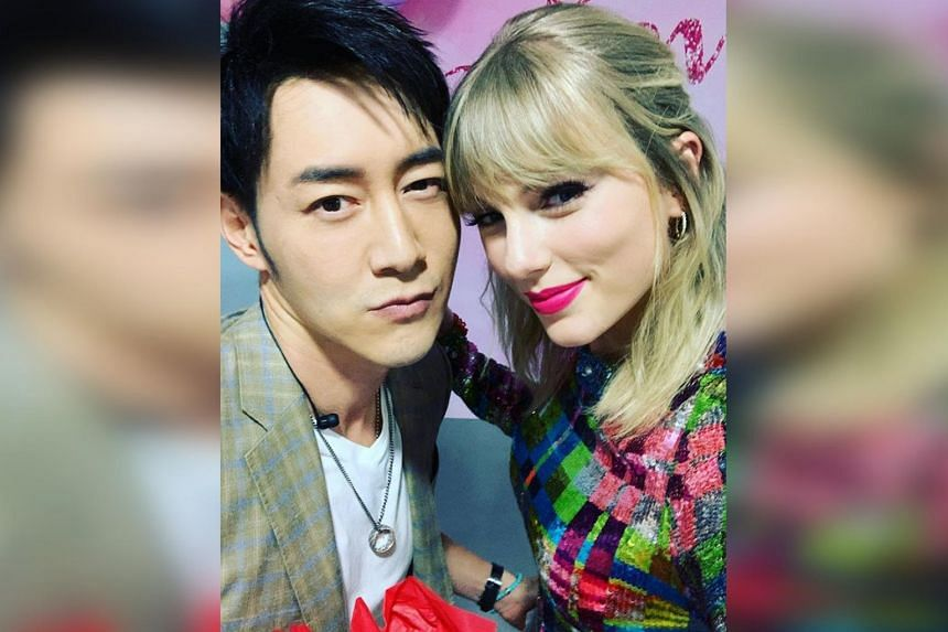 Taylor Swift Fans Slam Host For Being Too Touchy Feely With Singer At Guangzhou Fan Meet Entertainment News Top Stories The Straits Times