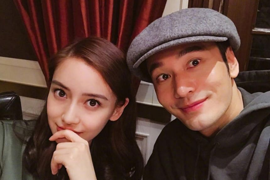 Huang Xiaoming and Angelababy married in 2015 and have a two-year-old son.