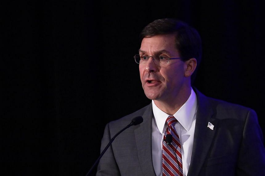 Defence Secretary Mark Esper said the possible downsizing of the joint drills should not be seen as a