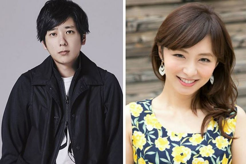 Kazunari Ninomiya of J-pop boy band Arashi announced that he tied the knot with a woman he has been dating for a while, who is reported to be former television presenter Ayako Ito (both above).