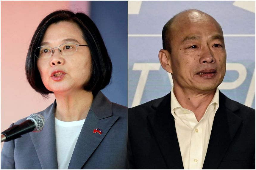 President Tsai Ing-wen's campaign spokesman welcomed the move, while Han Kuo-yu's office said it respected the decision.