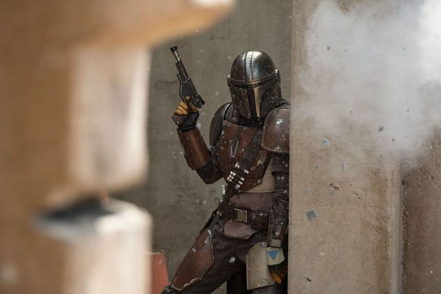 Pedro Pascal plays the title character in the new Disney+ show, The Mandalorian.