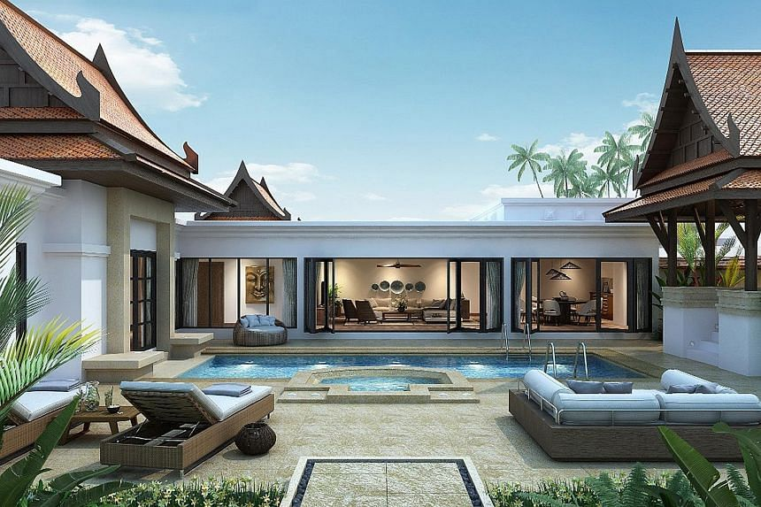 Banyan Tree Phuket's Serenity three-bedroom residence. The resort operator said earnings were hit by a range of factors, including lower operating profit from hotel investments and property sales, increased head office costs and higher depreciation o