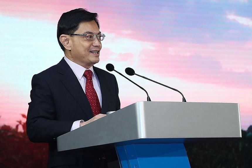 Deputy Prime Minister Heng Swee Keat noted that Olam International has been a leader in promoting sustainability, at the agri and food giant's 30th anniversary dinner yesterday.