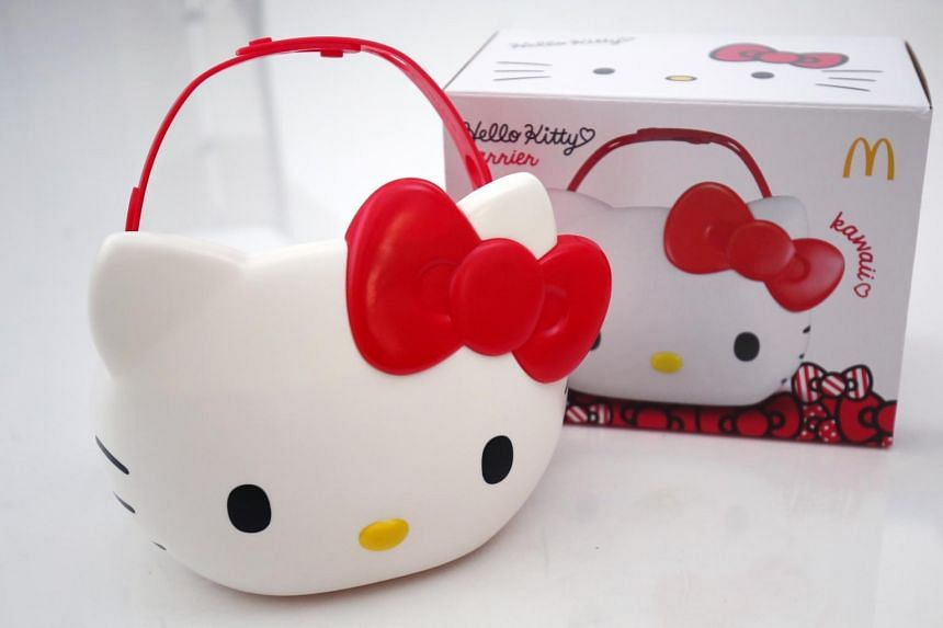 Singapore is the first country to get the limited-edition Hello Kitty meal carrier.
