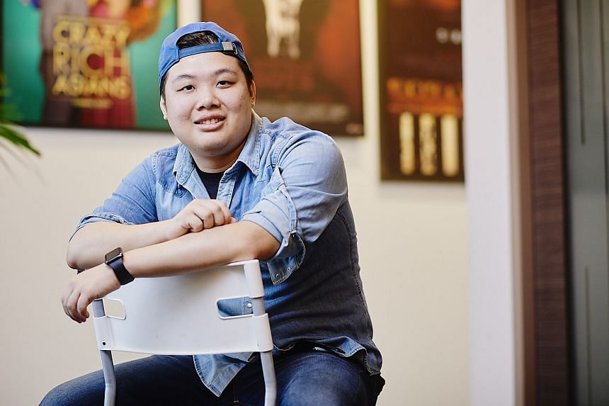 JCU psychology graduate, Mr Jasper Ng, joined post-production house Infinite Studios as a versioning editor after he discovered his passion for content creation. PHOTO: TED CHEN