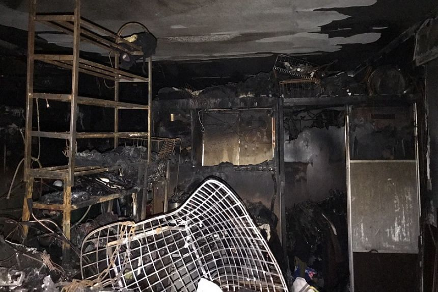 The fire occurred at Block 210A, Bukit Batok Street 21 on Nov 1, 2019. It began at 4am.