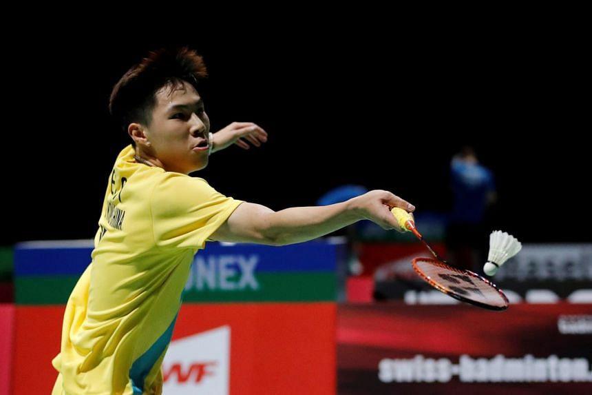 Lee (above, in a file photo) beat India's Kidambi Srikanth 21-9, 25-23.