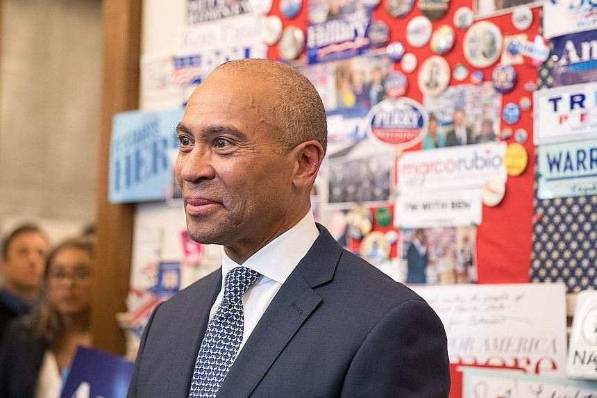 Businessman Deval Patrick declared his candidacy on Thursday. He was the first African-American to be elected governor of Massachusetts. PHOTO: AGENCE FRANCE-PRESSE Former mayor of New York City Michael Bloomberg has filed paperwork to run in the Ala
